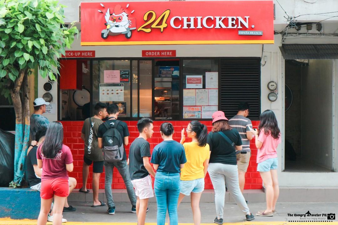 24 chicken mendiola