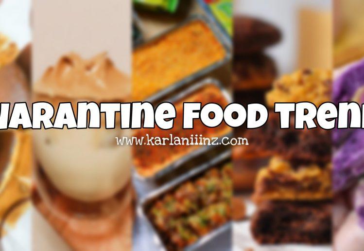 quarantine food trends