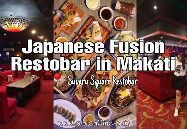 subaru square restobar